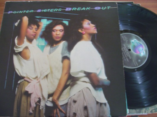 POINTER SISTERS - BREAKOUT - PLANET RECORDS